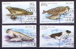 Iceland; 2010 & 2011; 2 Set With Seals - 1944-... Republique