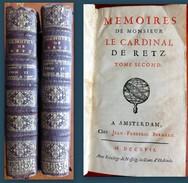 RETZ (Cardinal De). Mémoires, Tome Second. Edition Originale. - Livres, BD, Revues