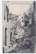 Bouches-du-Rhone - Tremblement De Terre Du 11 Juin 1909 - Rognes Une Rue Entièrement Dévastée - Frankrijk