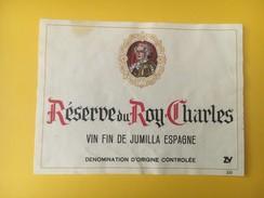 4707 - Réserve Du Roy Charles Jumilla Espagne - Etiquettes