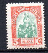Viñeta Politica   Nº 548/1587 Socorro Rojo De Cataluña. - Verschlussmarken Bürgerkrieg