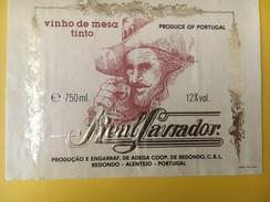 4708 - Vinho De Mesatinto Real Savjador Potugal - Etiquettes