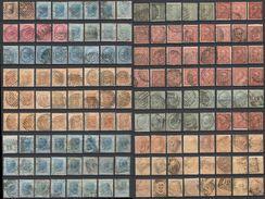 D51) V.E.II LOTTO DI USATI - 1861-78 Vittorio Emanuele II
