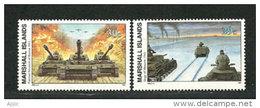 Opération Barbarossa (Invasion De L´URSS) 22 Juin 1941 & Siège De Moscou Octobre 1941. 2 T-p Neufs ** - 2. Weltkrieg
