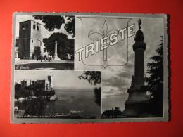 TRIESTE   3 VEDUTINE ANIMATA    - C-  128 - Trieste