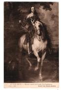 """ART . TABLEAU . A. VAN DYCK . """" RETRATO ECUESTRE DE CARLOS I DE INGLATERRA """" . MUSEO DEL PRADO MADRID - Réf. N°4102 - - Missions"""