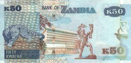ZAMBIA P. 60 50 K 2015 UNC - Zambia