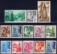 D+ Baden 1947 Mi 1-13 Mnh Freimarken - Zone Française