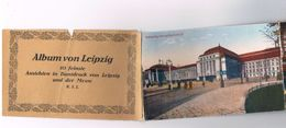 D-7731     LEIPZIG : Booklet Of 10 Postcards Of Leipzig And Der Messe7731( With MAP-Card) - Leipzig