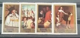 Manama, 1968, Mi: 65-68A (MNH) - Honden