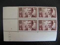 CD 1/12/1938 LA RADIO AUX AVEUGLES A 0.90F GOMME D'ORIGINE  INTACTE  N° 418 YT - Coins Datés