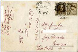 PROPAGANDA DI GUERRA  30c Su Cartolina Posta Militare 118 Illustrata G. Pagliarini  Case Di Montagna - 1900-44 Vittorio Emanuele III