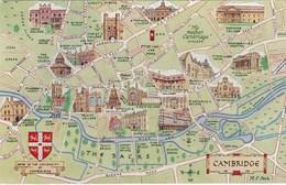 MAP CARD - CAMBRIDGE - Maps