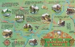 MAP CARD - LLANGOLLEN CANAL - Maps