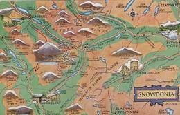 MAP CARD - SNOWDONIA - Maps