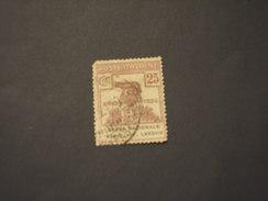 ITALIA REGNO - Enti Semistatali - VARIETA' - 1924 LUPA 25 C., R Lavoro Rotta - TIMBRATO/USED Assai Difettoso - 1900-44 Victor Emmanuel III.