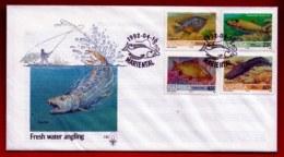 NAMIBIA, 1991, Mint FDC, Fishes, MI Nr. 1.10,  F4015 - Namibië (1990- ...)