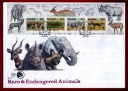 NAMIBIA, 1993, Mint FDC, N.N.F. Animals, MI Nr. 1.13ms,  F4022 Miniature Sheet - Namibië (1990- ...)