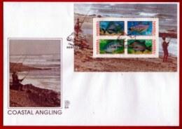 NAMIBIA, 1994, Mint FDC, Coastal Fishing, MI Nr. 2.2ms,  F4024 - Namibië (1990- ...)
