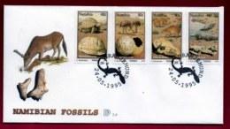 NAMIBIA, 1995, Mint FDC, Namibian Fossils, MI Nr. 2.9,  F4035 - Namibië (1990- ...)