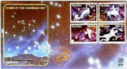 NAMIBIA, 1996, Mint FDC,  Zodiacs, MI Nr. 2.17,  F4045 - Namibië (1990- ...)