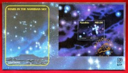 NAMIBIA, 1996, Mint FDC,  Zodiacs, MI Nr. 2.17ms,  F4044 - Namibië (1990- ...)