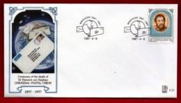NAMIBIA, 1997, Mint FDC,  Heinrich Von Stephan, MI Nr. 2.21,  F4048 - Namibië (1990- ...)