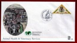 NAMIBIA, 1997, Mint FDC,  Veterinary Organization, MI Nr. 2.25,  F4055 - Namibia (1990- ...)