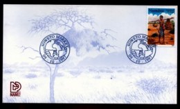 NAMIBIA, 1997, Mint FDC Card,  World Post Day, MI Nr. 2.26,  F4054 - Namibia (1990- ...)