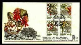 NAMIBIA, 1997, Mint FDC , Trees, MI Nr. 2.27,  F4057 - Namibië (1990- ...)