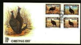 NAMIBIA, 1997, Mint FDC , Christmas Guinea Fowl, MI Nr. 2.28,  F3601 - Namibië (1990- ...)