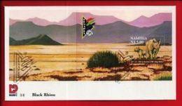 NAMIBIA, 1998, Mint FDC , Sapex Stamp Exhibition, MI Nr. 3.08ms  F3625 - Namibië (1990- ...)