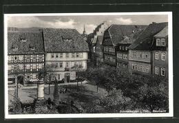 AK Schmalkalden, Gebäudepartie Am Neumarkt - Schmalkalden