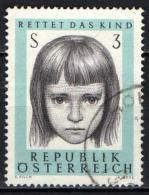 AUSTRIA - 1966 - 10° ANNIVERSARIO ASSISTENZA ALL'INFANZIA - USATO - 1945-.... 2de Republiek
