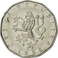 République Tchèque, 2 Koruny, 1995, SUP, Nickel Plated Steel, KM:9 - Repubblica Ceca