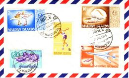 Maldive Islands Envelope 1969 - Maldivas (1965-...)