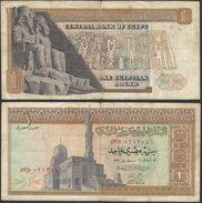 EGYPT ONE POUND 1971 BANKNOTE - SIGN Zendo Central Bank Of Egypt - Egypte