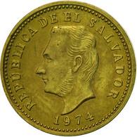 El Salvador, 3 Centavos, 1974, British Royal Mint, England, SUP, Nickel-brass - Salvador