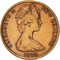Nouvelle-Zélande, Elizabeth II, Cent, 1973, SUP, Bronze, KM:31.1 - Nouvelle-Zélande