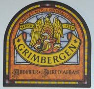 Sous-bock GRIMBERGEN Abdijbier Bière D'abbaye (phoenix Phénix Feniks) Bierdeckel Bierviltje Coaster (CX) - Sous-bocks