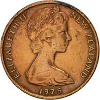 Nouvelle-Zélande, Elizabeth II, Cent, 1975, SUP, Bronze, KM:31.1 - Nouvelle-Zélande