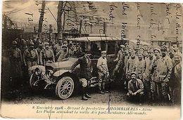 CPA 8 Novembre 1918 - Devant Le Presbytére D'Hombliéres (158006) - France