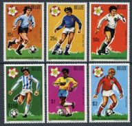 Belize 1982 Football Soccer World Cup Espana 1982 Michel 614-620 MNH - World Cup
