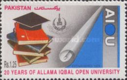 PAKISTAN MNH** STAMPS ,1995 The 20th Anniversary Of Allama Iqbal Open University, Islamabad - Pakistan