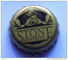 Stone Brewing Co USA Gargoyle 2 Beer Bottle Top Crown Cap Kronkorken Capsule Tappi Chapa - Bière