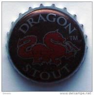 Dragon Stout Jamaica Beer Bottle Top Crown Cap Kronkorken Capsule Tappi Chapa - Beer