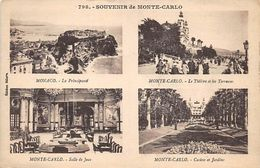 CPA - Souvenir De Monte-Carlo - Multi Views - Monte-Carlo