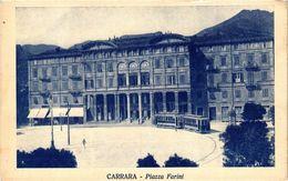 CPA CARRARA Piazza Farini . ITALY (468277) - Carrara