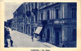 CPA CARRARA Via Roma . ITALY (468272) - Carrara