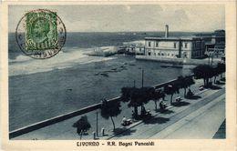 CPA LIVORNO R.R. Bagni Pancaldi . ITALY (467886) - Livorno